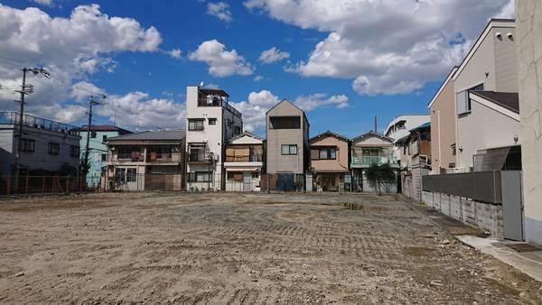 東大阪市小若江2丁目貸土地 メイン画像