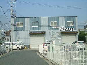 橋本リース倉庫(西側)